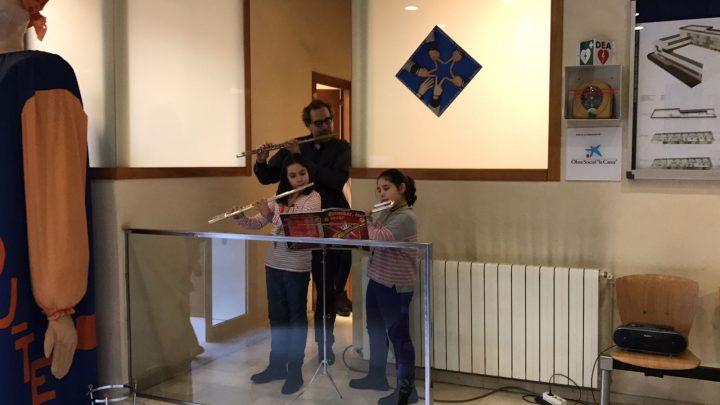 Música per començar la diada de Sant Josep de Calassanç