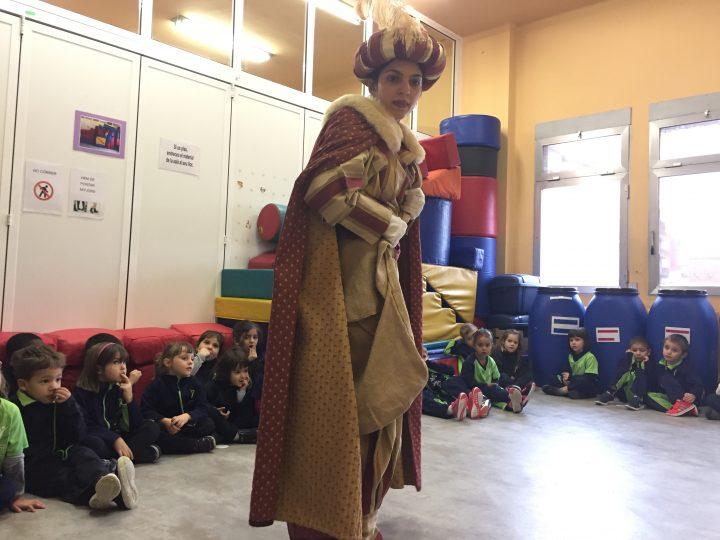 El Patge Gregòri visita Infantil
