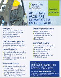 INICI DEL NOU CURS D'AUXILIAR DE MAGATZEM I MANIPULACIÓ