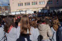 Cantem Nadales al pati de l'escola