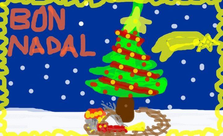 Felicitacions nadalenques en correu electrònic
