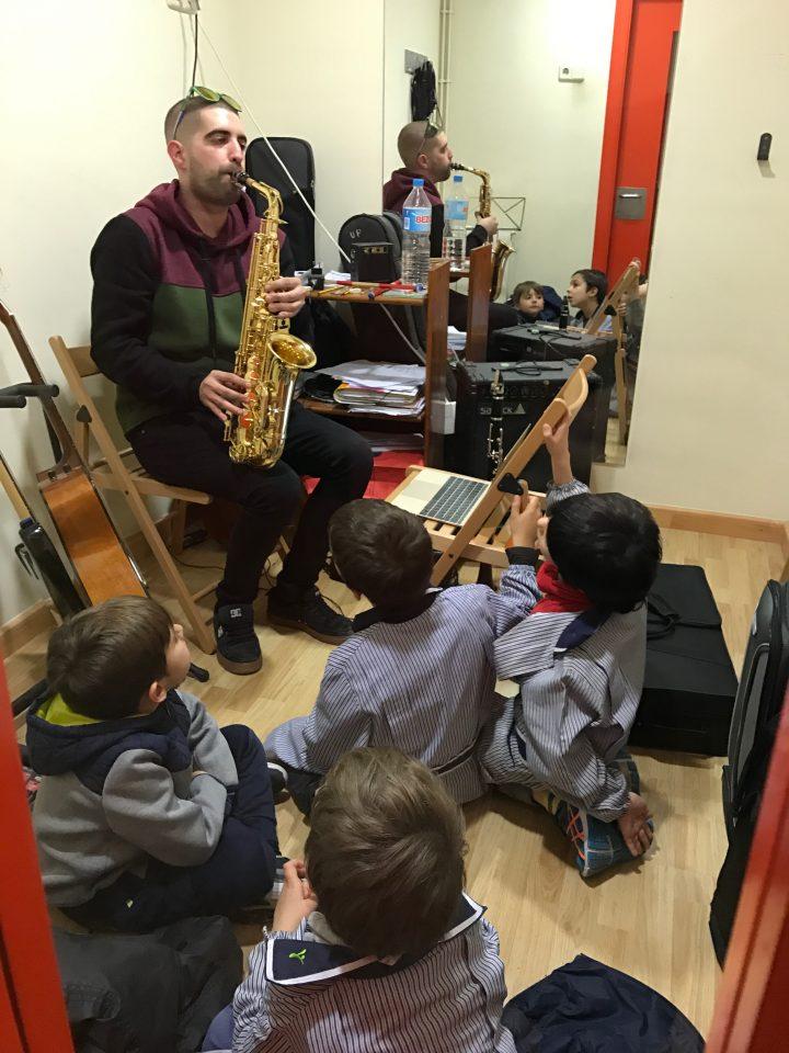 Escollim instrument a primer de primària musical