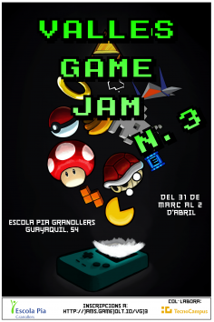 3ª Vallès Game Jam a l'Escola Pia