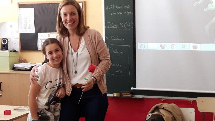Els pares i les mares ens expliquen contes el dia de Sant Jordi