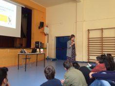 Autors a l'escola amb l'Ana Alcolea a 4t ESO