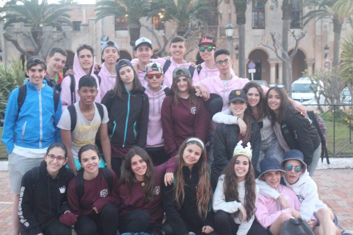 Viatge de fi de curs 4t d'ESO, Menorca!