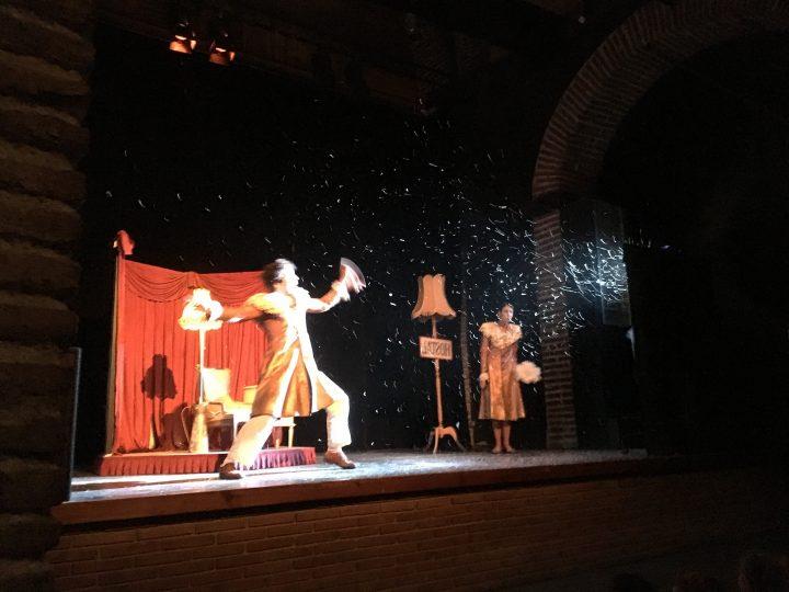 """Cicle inicial gaudeix de """"Bianco"""", un espectacle de teatre visual"""