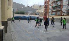 A 2n d'ESO juguem a voleibol!