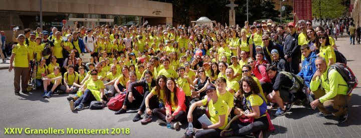 Caminada Granollers Montserrat 2018
