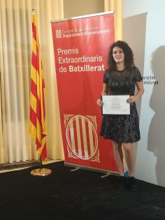 Premis Extraordinaris de Batxillerat.