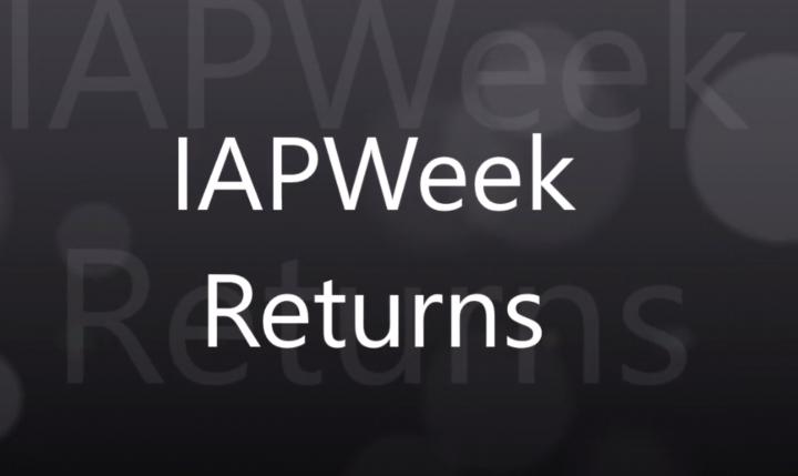 Aquesta primavera torna la IAPWeek!