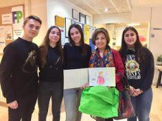 Visita d'Ana Alcolea als alumnes de 4rt d'ESO