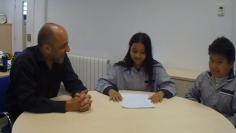 Avui hem entrevistat a en Xavier Ambròs, director de l'escola!