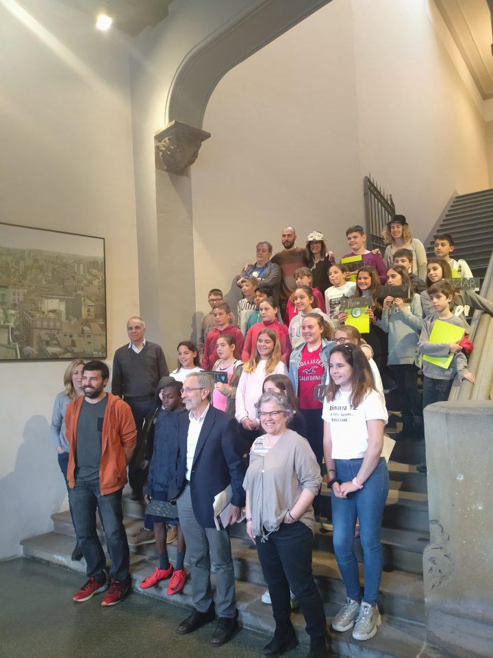 Audiència dels consellers i conselleres representants del Consell  dels Infants