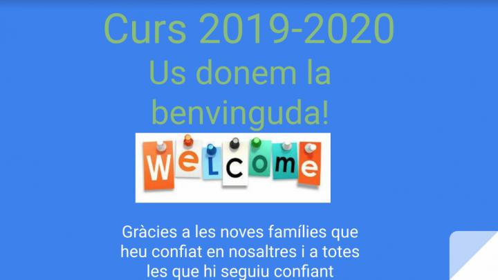 Reunió noves families juny 1r ESO curs 19-20