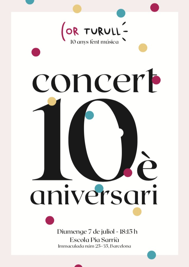 Concert 10è aniversari Cor Turul