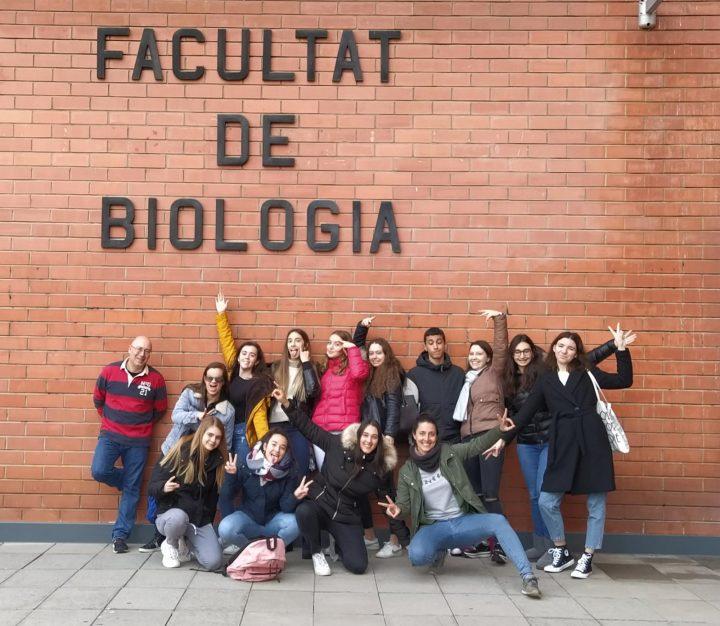 PRÀCTIQUES DE BIOLOGIA A LA UB