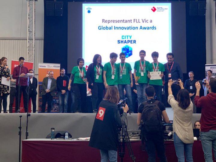 4 alumnes guanyen un premi científic