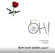 Felicitació de Sant Jordi